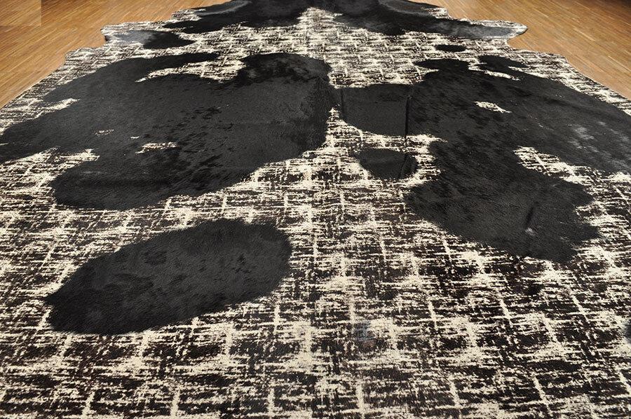 peau de vache x taureau beige noir coloré 230 x vache 160 cm 3a411b