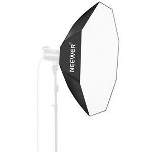 Neewer Difusor Softbox Octagonal Plata Reversible 60Cm De Estudio Fotográficos