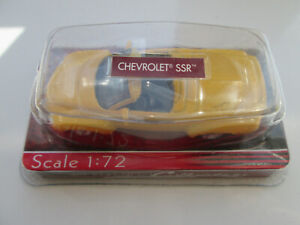 CHEVROLET SSR IN SLINGSHOT YELLOW BOXED AND MINT
