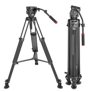 Neewer-77-inches-Aluminum-Alloy-Video-Tripod-with-360-Degree-Fluid-Drag-Head