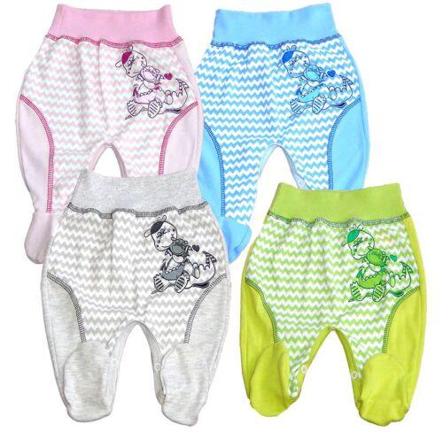 Baby Hose mit Fuß Drachen Strampler Junge Mädchen Gr.56,62,68,74,80,86
