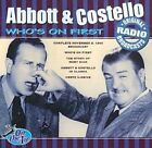 Who's on First: A Collection of Classic Routines by Abbott & Costello (CD, Jan-1998, BCD)