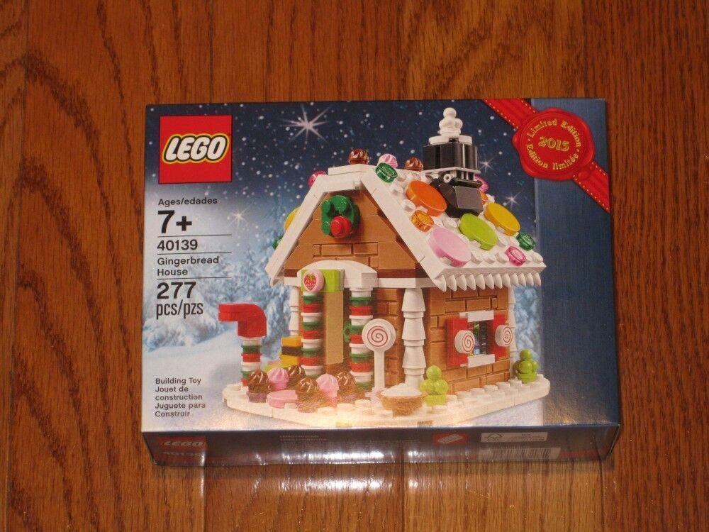 nuovo  Exclusive Lego 40139 Gingerbread House Christmas Holiday 2015  vendita calda online