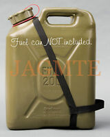 Easy Pour Strap-2 Handle-mfc-black- For Your Scepter Military Fuel Gas Can