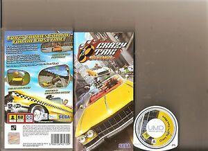 CRAZY-TAXI-FARE-WARS-SONY-PSP-HANDHELD-2-GAMES-CRAZY-TAXI-1-AND-2-RACING