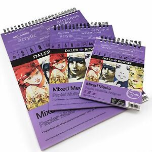 Daler-Rowney-Mixed-Media-Spiral-Sketchpad-250gsm-30-Pages-A3-A4-A5