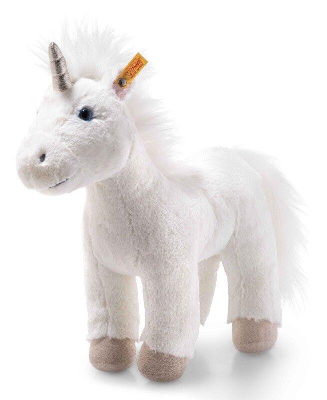 Steiff Morbido Coccolone Friends Unica Unicorno Lavabile Peluche - 35cm - 087790