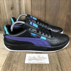 PUMA-GV-Special-039-Last-Dayz-039-Shoes-Black-Purple-Turquoise-Mens-Size-11