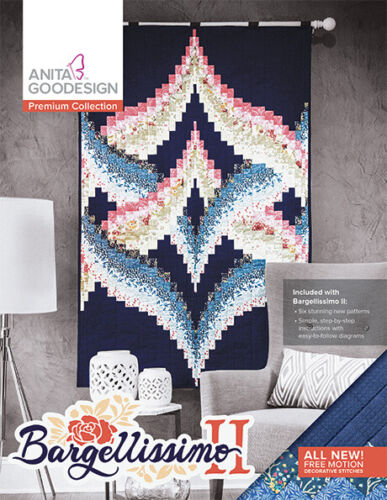 Bargellissimo 2 Anita Goodesign Embroidery Design Book and CD New