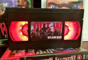 Walking Dead Zombies Desk Lamp, Horror Movie, VHS, Bed Light, Present, Gift, TV