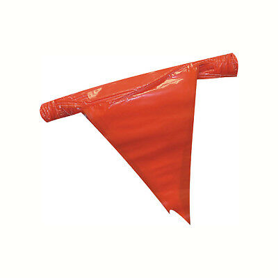 3 pack Red OSHA Approved OSHA Red Pennants Perimeter Markers 105 ft
