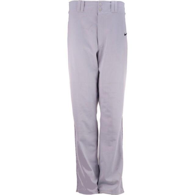 5a641f19e5863f Mens Nike Stock Lights Out Baseball Pant Grey Black Size XL