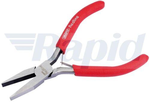 Draper Redline 68306 125 mm Flat Nose Mini Pinces avec pvc Trempé poignées