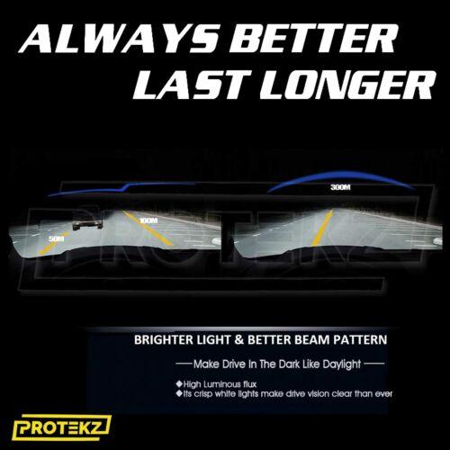 Protekz LED Fog Light Kit H16 6000K CREE for 2014-2017 Lexus CT200H
