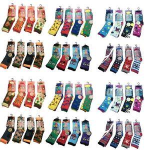 48 Pairs BOYS Children's Socks Kids Shoe Size 12-3 Wholesale Job lot