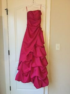 bcc93dd85ad Image is loading Onyx-nite-pink-Prom-dress-size-1-2