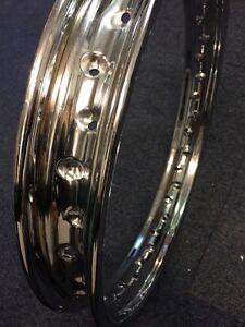 Wheel-Rim-1-85x17-034-x36-Holes-Suit-7-034-Diam-Drum-Hub-AJS-L-W-Yamaha-Suzuki-Honda
