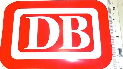 Chemin de Fer Fédéral 18x12 cm Å Autocollant DB Logo Allemand Bundesbahn Env