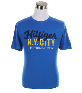 Tommy-Hilfiger-Men-039-s-Short-Sleeve-Crew-Neck-Logo-Tee-T-Shirt-0-Free-Ship