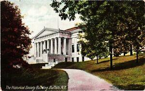 Vintage Postcard - The Historical Society Building Buffalo New York NY #4501