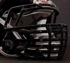 JUSTIN TUCK style Riddell Revolution SPEED Football Helmet Facemask - BLACK