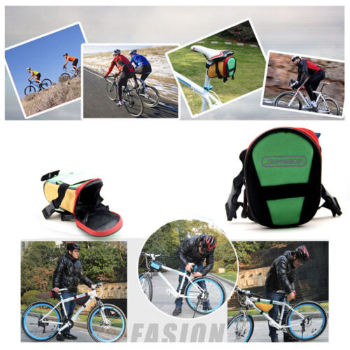 Stock Sports Roswheel Bicycle Bike Cycling Tail Bag Saddle Bag Pouch Seat Bags