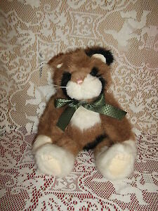 Boyd-Collection-12-034-Jointed-CALICO-CAT-1988-2003-very-clean-with-fabric-tags