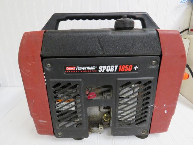 coleman powermate sport 1850 generator ebay rh ebay com coleman powermate 1850 service manual coleman powermate 1850 repair manual