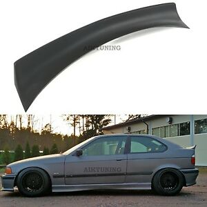 BMW-E36-Rear-Boot-Lid-Trunk-Spoiler-Ducktail-Wing-Compact-Hatchback-Ducktail-Lip