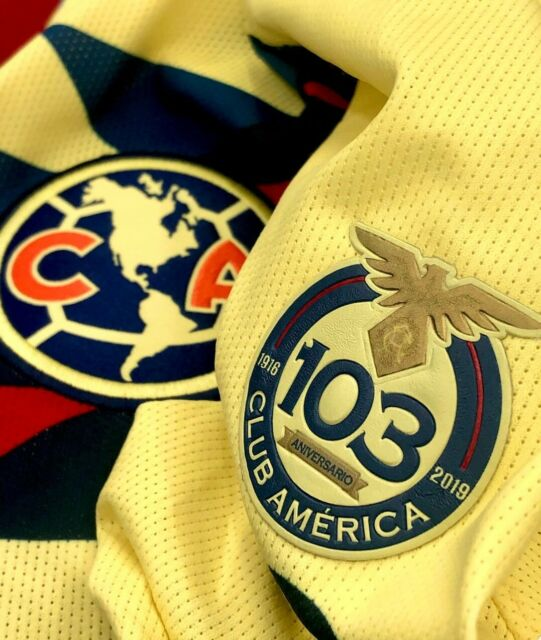 VIÑAS 2021 MX PATCH MEN/'S LIGA MX CLUB AMERICA LOCAL #24 F