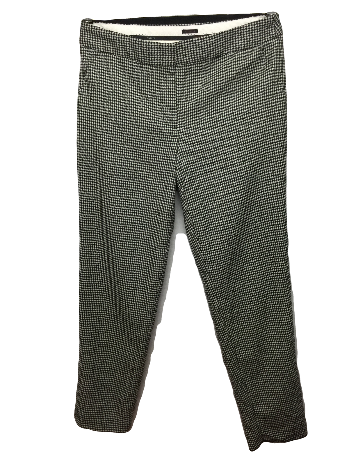 NEW Talbots Hampshire Geo Wool Ankle Pants Größe 6