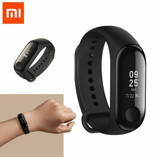 Xiaomi Mi Band 3 Bluetooth Waterproof Heart Rate Monitor Smart Watch  Bracelet