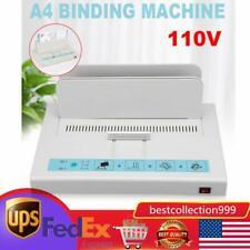 Electric Desktop Hot Melt Thermal Binding Machine Sheet Envelope For A4 Paper