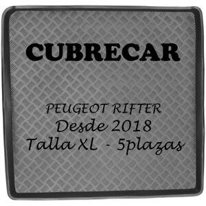 Bandeja Cubeta funda maletero PEUGEOT Rifter 5 plazas desde 2018