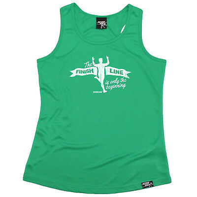 Running Vest Funny Womens Sports Performance Singlet I Run Like A Girl