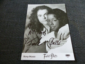 TUCK & PATTI signed 7x5 inch Autograph Photo InPerson in Germany LOOK