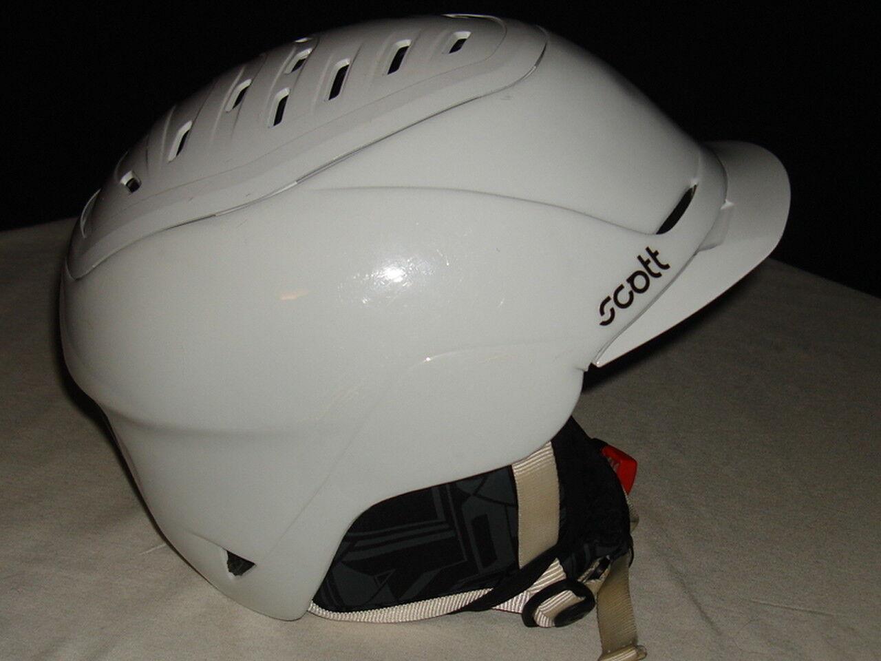SCOTT  ROAM  WHITE WINTER SPORTS HELMET SZ.  L MINT  promotional items