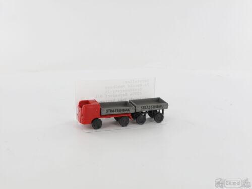Hänger Straßenbau Massstab Mehlhose 79 Multicar Typ D 1:87