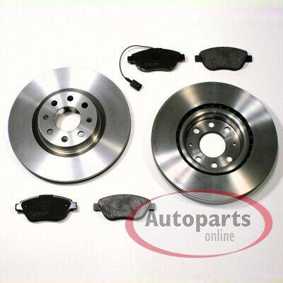 Bremsscheiben Bremsbeläge vorne vorderachse für Fiat Grande Punto 199/_ 199
