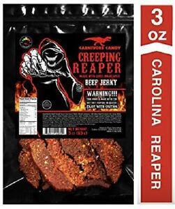 Jurassic-Jerky-Creeping-Reaper-Carolina-Reaper-Beef-Jerky-1-3Oz-Bag