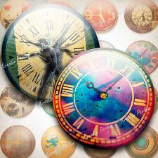 Collage Sheet Digital Mode Uhren Anhänger Fotocollage Fassung Perlen KPCS94-15