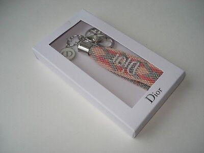 accessory woven VIP charm charm keyring Dior breloque handbag gift w0FSq5UExT
