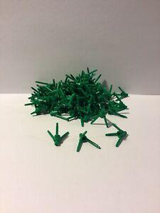 Lego 50 Green Plant Flower Stems Stalks Grass Landscaping NEW #3741