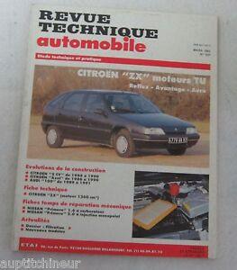 Actif Revue Technique Automobile Rta 537 1992 Citroen Zx Moteur Tu