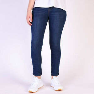 Levi-s-Perfectly-Slimming-Pull-On-Skinny-Damen-Blau-Leggings-DE-36-US-W28-L30