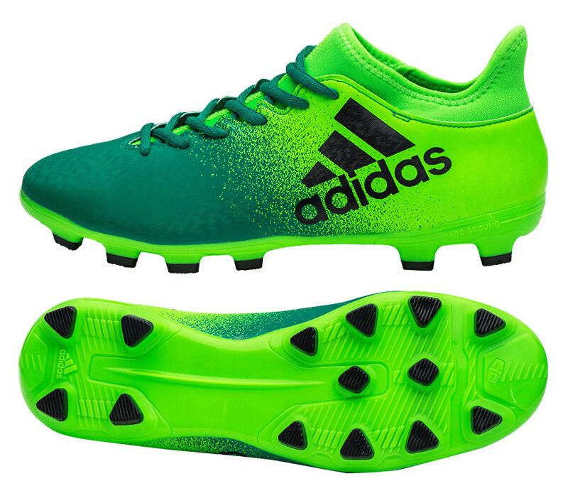 adidas X 16.3 Firm Ground, Scarpe da Calcio Unisex Bambini