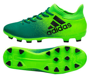 ae74c2360010 Adidas X 16.3 HG (BB6064) Soccer Cleats Football Shoes Boots Hard ...
