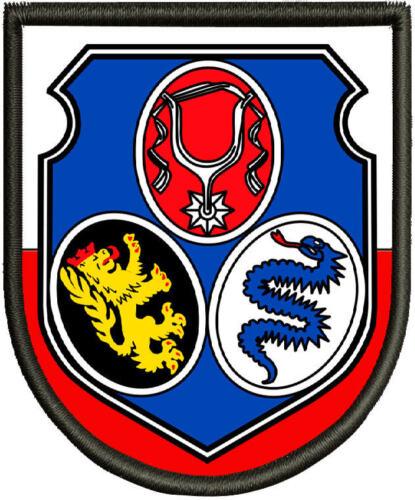 Pin Wappen von Dachau Aufbügler. Patch Aufnäher