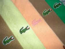 Lot of 5 Mens LACOSTE V Neck Sweaters/Cardigan/Turtleneck Large L Yellow/Green