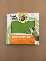 Zanies Ie9596 16 43 Insect Repellent Dog Safety Vest Green, Medium Ships Free